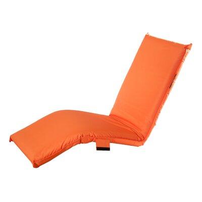 Karakara Chaise Lounge Fabric: Orange