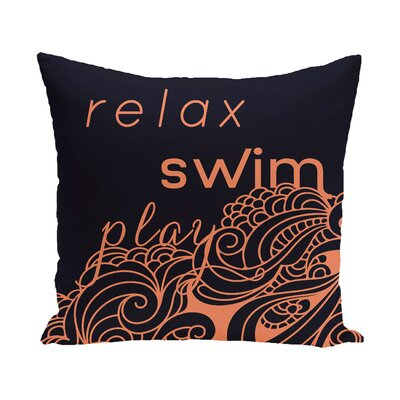 Grand Ridge Word Outdoor Throw Pillow Size: 20 H x 20 W