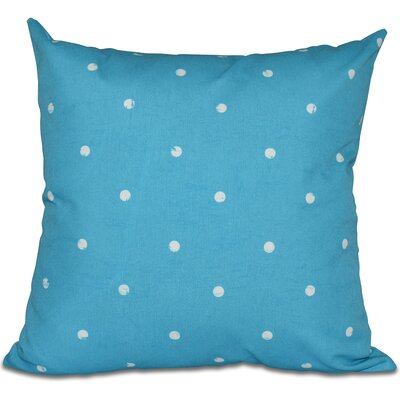 Golden Beach Dorothy Dot Geometric Outdoor Throw Pillow Color: Turquoise, Size: 20 H x 20 W