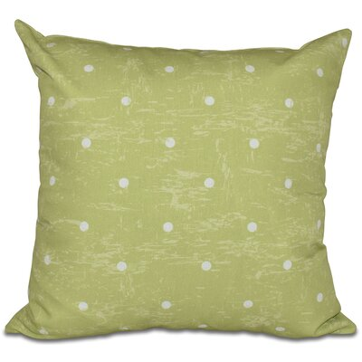 Golden Beach Dorothy Dot Geometric Outdoor Throw Pillow Size: 20 H x 20 W, Color: Light Green