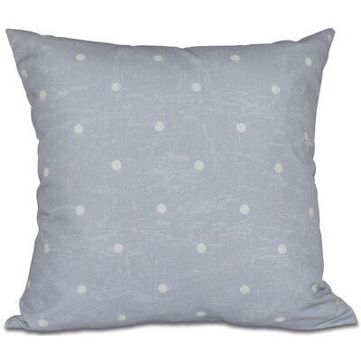Golden Beach Dorothy Dot Geometric Outdoor Throw Pillow Size: 20 H x 20 W, Color: Gray