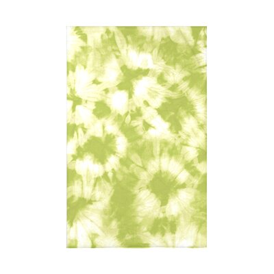 Golden Beach Chillax Geometric Throw Blanket Size: 60 L x 50 W x 0.5 D, Color: Light Green