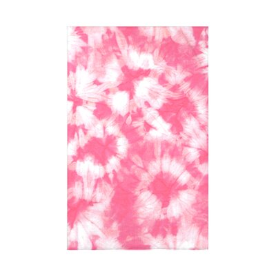Golden Beach Chillax Geometric Throw Blanket Size: 60 L x 50 W x 0.5 D, Color: Pink