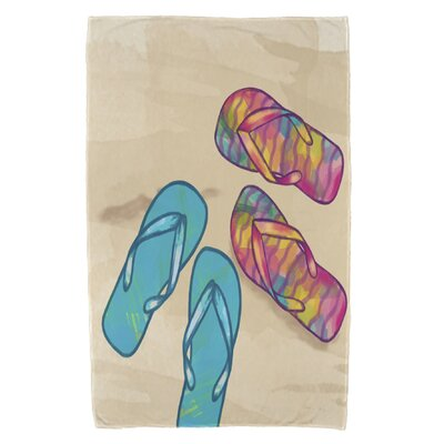Granata Beach Shoes Beach Towel