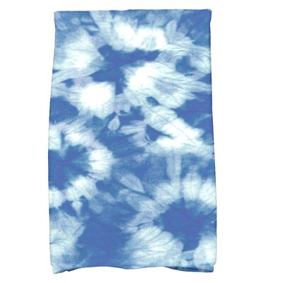Golden Beach Chillax Novelty Print Hand Towel Color: Blue