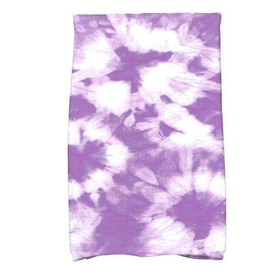 Golden Beach Chillax Novelty Print Hand Towel Color: Purple