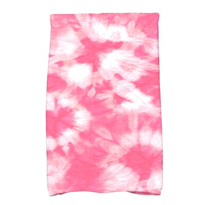 Golden Beach Chillax Novelty Print Hand Towel Color: Pink