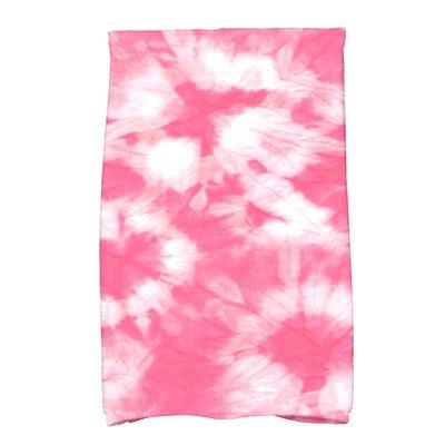 Golden Beach Chillax Novelty Print Hand Towel Color: Pink
