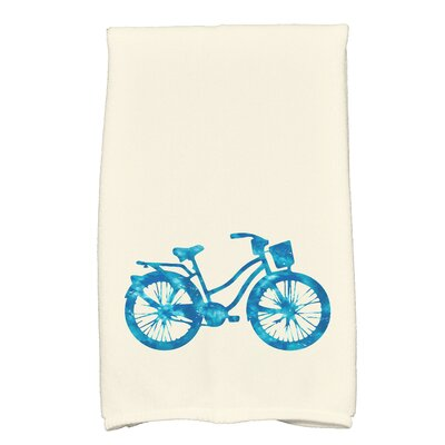 Golden Beach Life Cycle Transportation Print Hand Towel Color: Turquoise