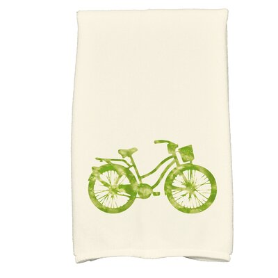Golden Beach Life Cycle Transportation Print Hand Towel Color: Light Green