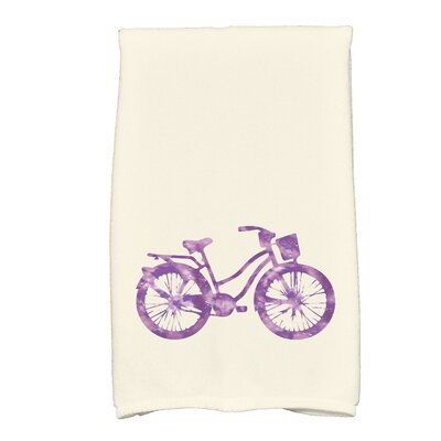 Golden Beach Life Cycle Transportation Print Hand Towel Color: Purple