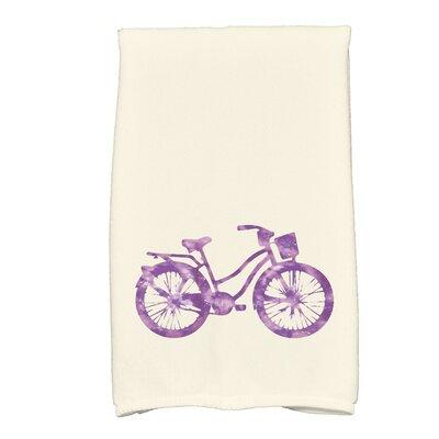 Golden Beach Life Cycle Transportation Print Hand Towel Color: Purple