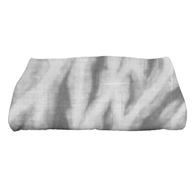Grand Ridge Shibori Geometric Print Bath Towel Color: Gray