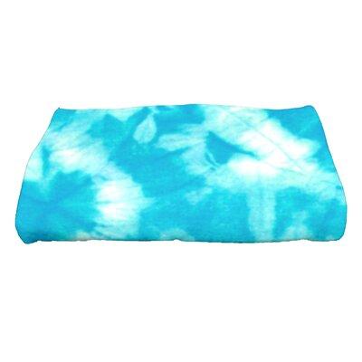 Golden Beach Chillax Novelty Print Bath Towel Color: Turquoise