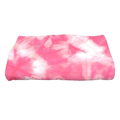 Golden Beach Chillax Novelty Print Bath Towel Color: Pink