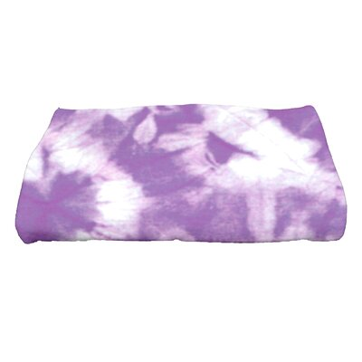 Golden Beach Chillax Novelty Print Bath Towel Color: Purple