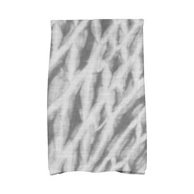 Grand Ridge Shibori Novelty Print Hand Towel Color: Gray