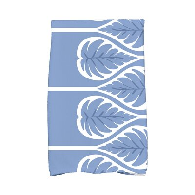 Sigsbee Fern 1 Hand Towel Color: Blue