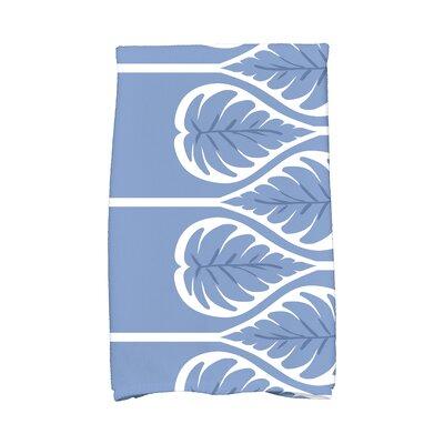Sigsbee Fern 1 Hand Towel Color: Blue