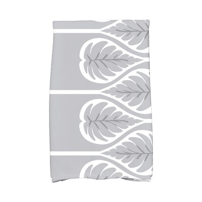 Sigsbee Fern 1 Hand Towel Color: Gray