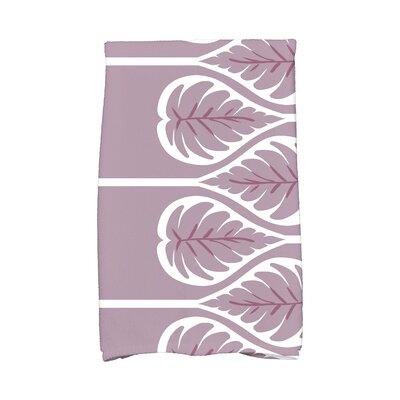 Sigsbee Fern 1 Hand Towel Color: Lavender