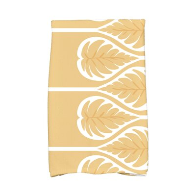 Sigsbee Fern 1 Hand Towel Color: Gold