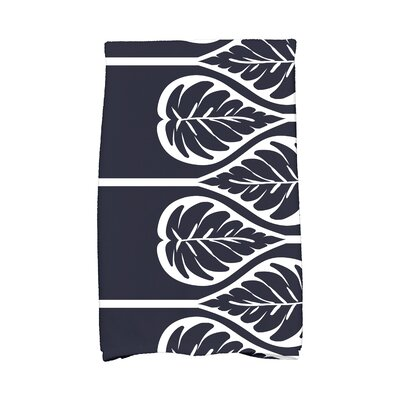 Sigsbee Fern 2 Hand Towel Color: Navy Blue