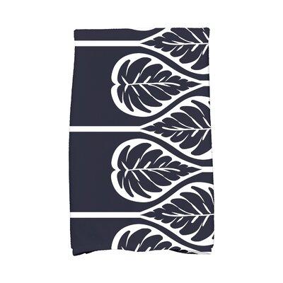 Sigsbee Fern 2 Hand Towel Color: Navy Blue