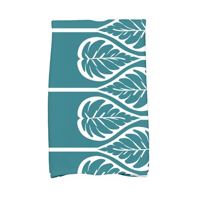 Sigsbee Fern 2 Hand Towel Color: Teal
