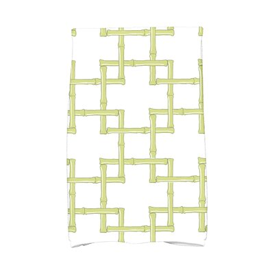Sigsbee Bamboo Print Hand Towel Color: Green