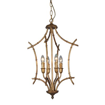 Melochia 4-Light Foyer Pendant