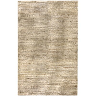 Tai Hand Woven Beige Area Rug Rug Size: Rectangle 36 x 56