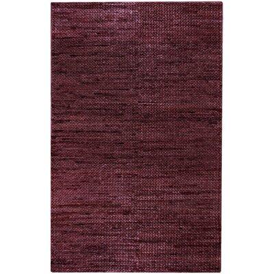 Tai Burgundy Area Rug Rug Size: 8 x 11