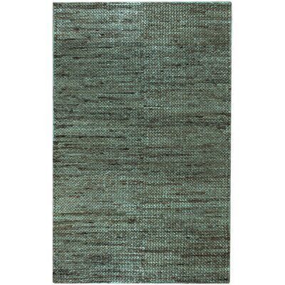 Tai Hand-Woven Moss Area Rug Rug Size: Rectangle 36 x 56