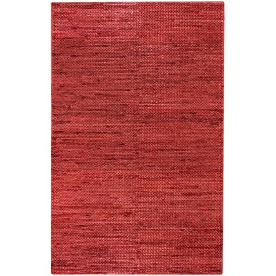 Tai Poppy Solid Rug Rug Size: Rectangle 5 x 8