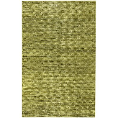 Tai Hand-Woven Green Area Rug Rug Size: Rectangle 2 x 3