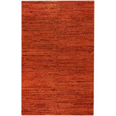 Tai Dark Poppy Solid Rug Rug Size: Rectangle 5 x 8