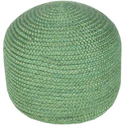 Tai Pouf Ottoman Upholstery: Emerald Green