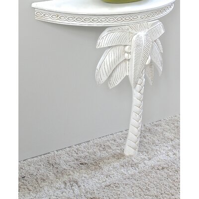 Westport Console Table Color: Antique White