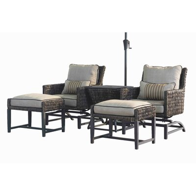 Affordable Rattan Conversation Set Product Photo