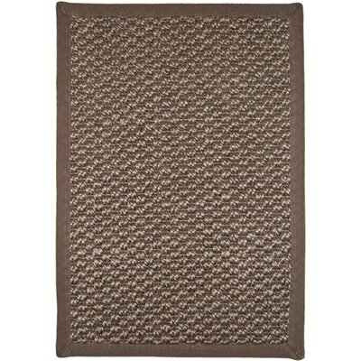 Awapuhi Brown Area Rug Rug Size: 2'3 x 3'7