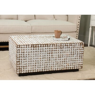 Sherlyn Coffee Table Top Color: White Wash