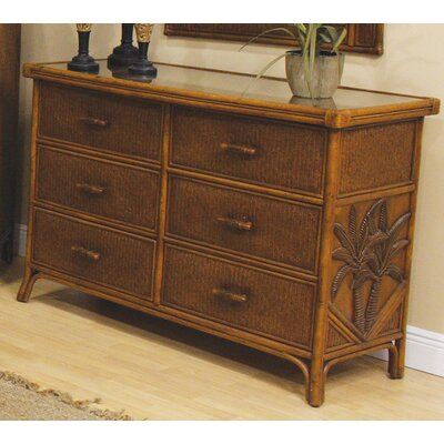 Cypress 6 Drawer Dresser