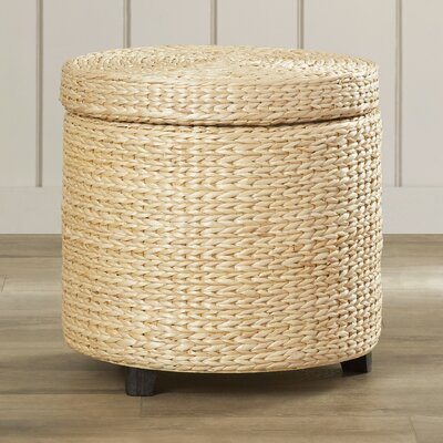Horsetail Storage Ottoman Finish: Natural