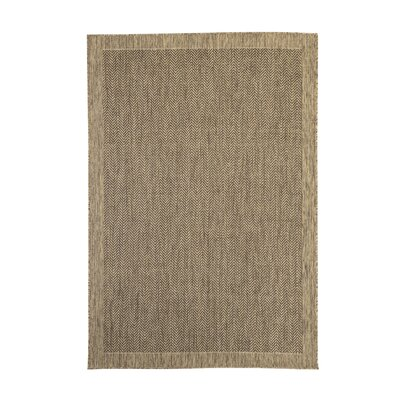 Willow Brown Indoor/Outdoor Area Rug
