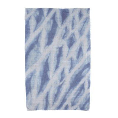 Grand Ridge Shibori Beach Towel Color: Blue