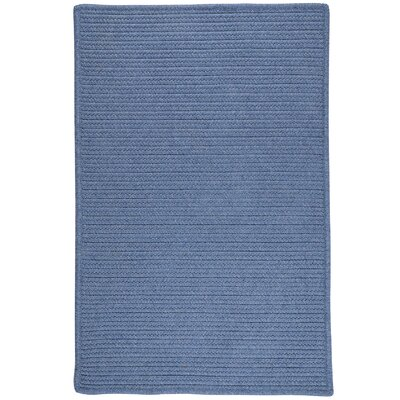 Hopseed Hand-Woven Blue Indoor/Outdoor Area Rug Rug Size: 5 x 7