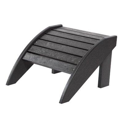 Alanna Adirondack Footstool Color: Black