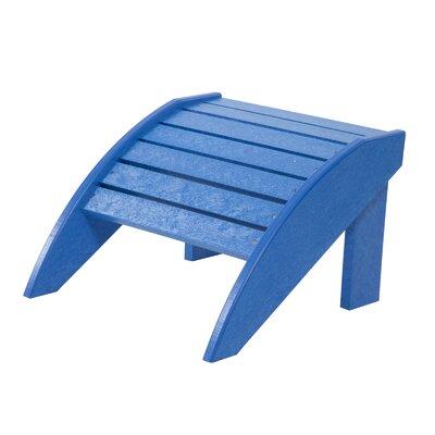 Alanna Adirondack Footstool Color: Blue
