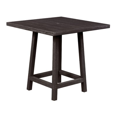 Zander Square Pub Table Finish: Espresso